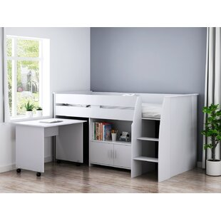Beau European Single, 90 X 200 Cm Mid Sleeper With Desk By Isabelle & Max