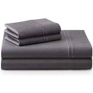 Cateline 600 Thread Count Premium Cotton Fitted Sheets Set (Set of 4)