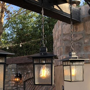 Price comparison Sherly 1-Light Outdoor Hanging Lantern By Bloomsbury Market