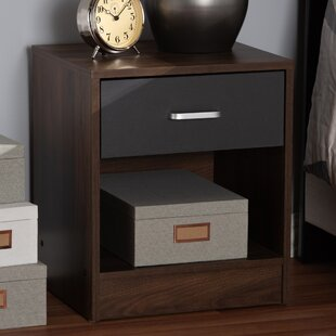Overstreet 1 Drawer Nightstand