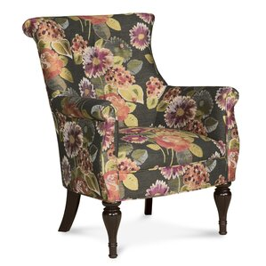 Bombe Wingback Chair by Fairfield Chair