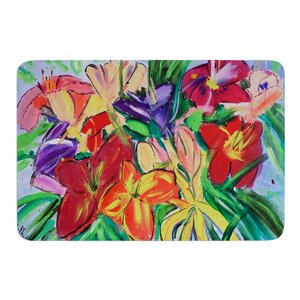 Matisse Styled Lillies by Cathy Rodgers Bath Mat