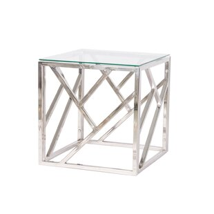 Oliverson End Table by Orren Ellis