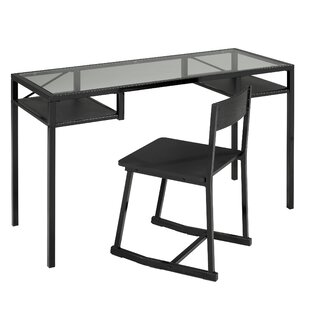Brassex Office Writing Desk and Chair Set
