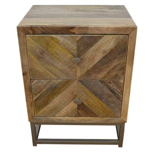 Stephenson 2 Drawer Nightstand by Union Rustic