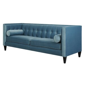 Pineview Tuxedo Chesterfield Sofa