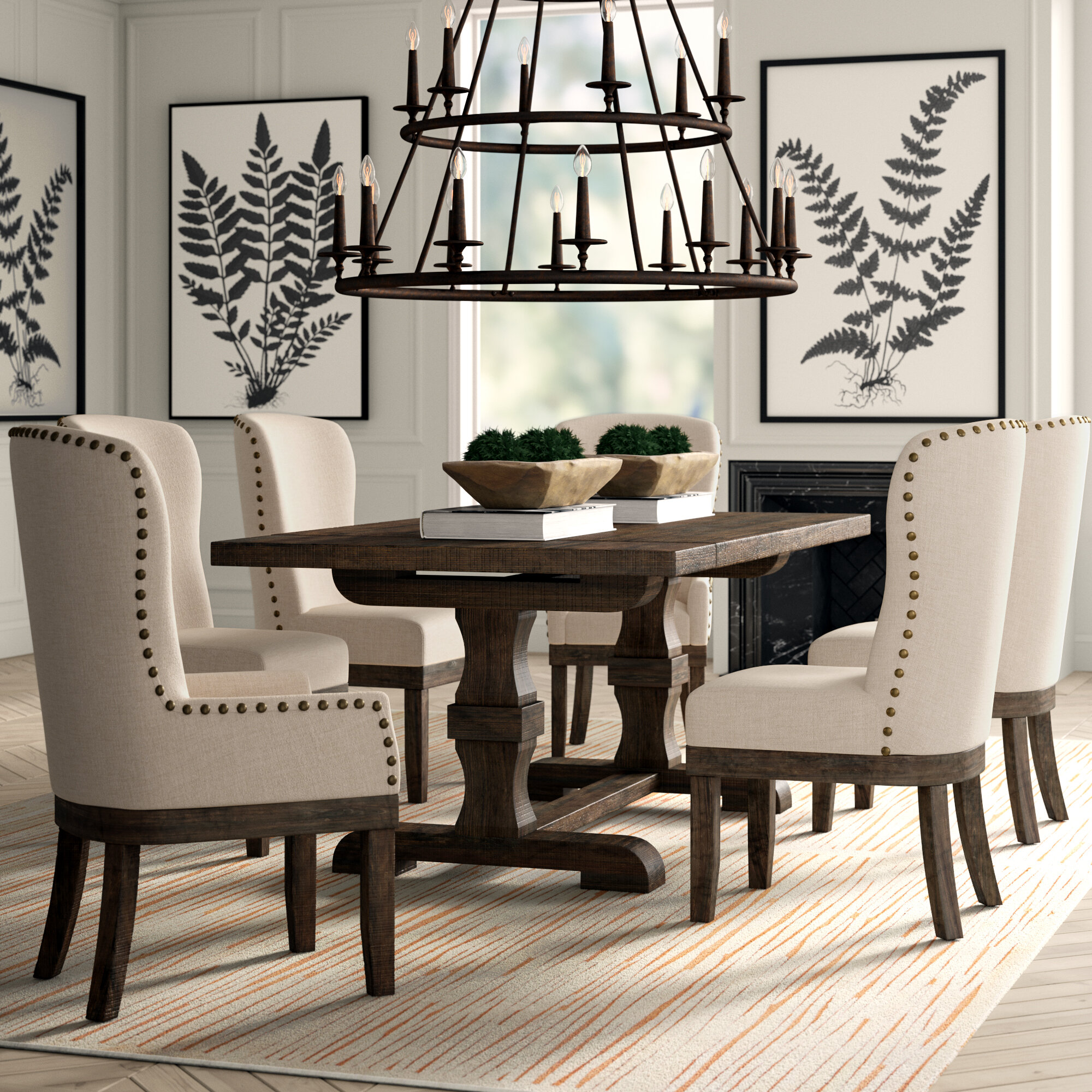 Greyleigh Quinn 7 Piece Dining Set