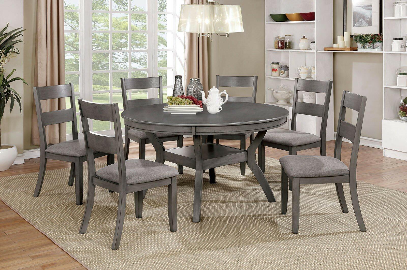 Longshore Tides Darryl Round Dining Table Reviews Wayfair