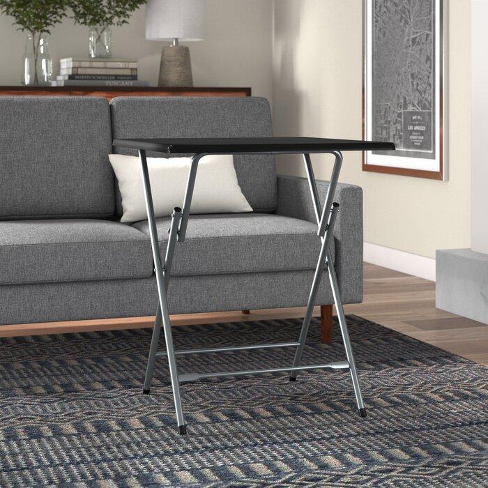 Battaglia Oversized Metal Folding Tray Table