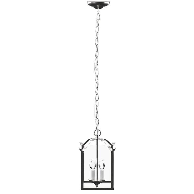 Charlton Home Birkett 2 - Light Lantern Square Pendant