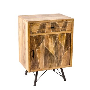 Union Rustic Erickson 1 Drawer 1 Door Accent Cabinet