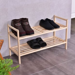 Rebrilliant 6 Pair Shoe Rack