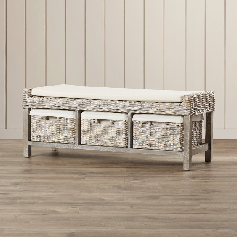 Leighton Upholstered Storage Bench