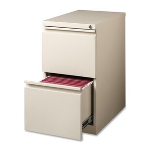 15 W X 22.9 D 2-Drawer Mobile Pedestal File by Lorell Savings