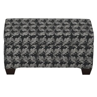 Faye Linen Upholstered Storage Bench