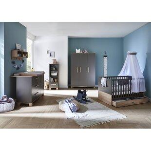 Cloe Cot Bed 3 Piece Nursery Furniture Set