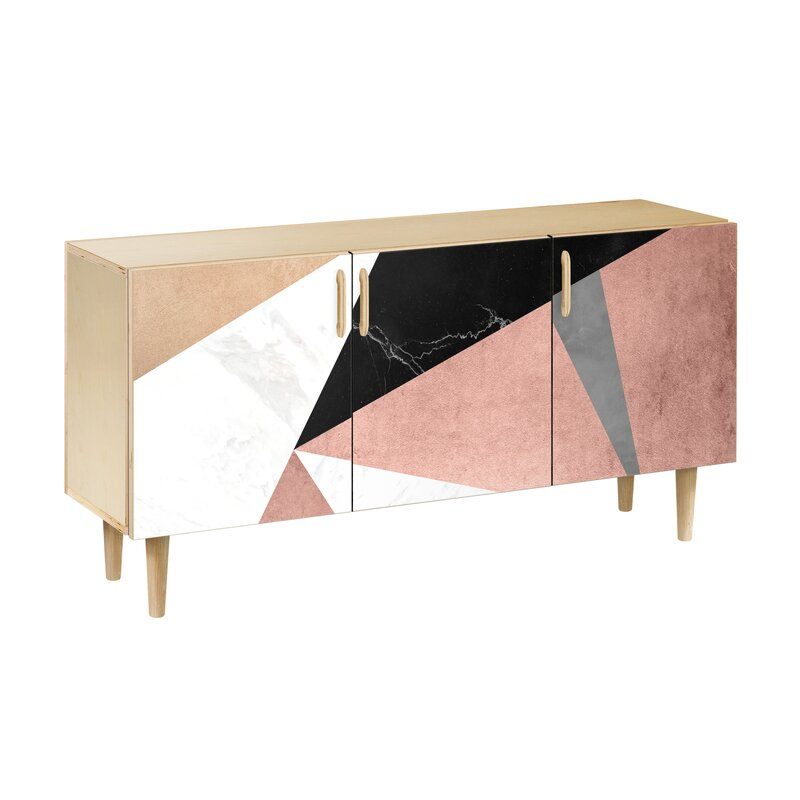 Brayden Studio Lovell Buffet Table Wayfair