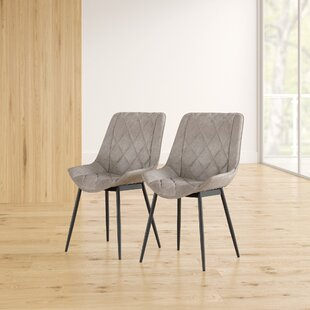 Salisbury Upholstered Dining Chair (Set of 2) by Orren Ellis