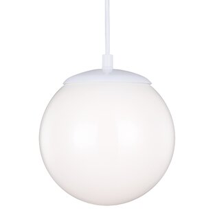 Graybeal 1-Light Globe Alu..