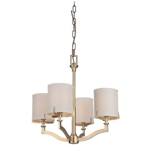 Darby Home Co Evenson 4-Light Shaded Chandelier