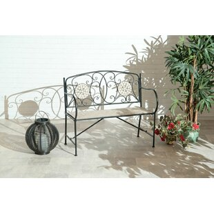 Norcroft Wrought Iron Bench By Sol 72 Outdoor