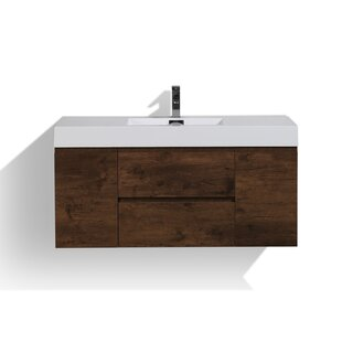 Buy luxury Sinope 47 Single Bathroom Vanity Set By Orren Ellis