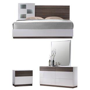 Elida Platform Configurable Bedroom Set