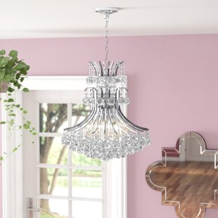 Trenton 8-Light Crystal Chandelier by House of Hampton