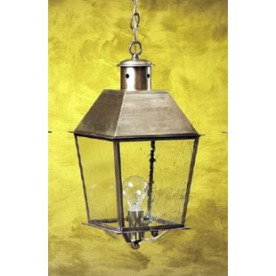 Kira 1-Light Outdoor Hanging Lantern