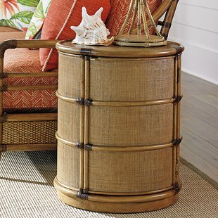 Twin Palms End Table with ..