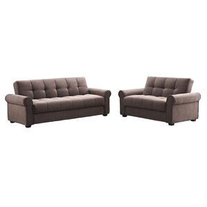 rubin click clack sofa and loveseat set