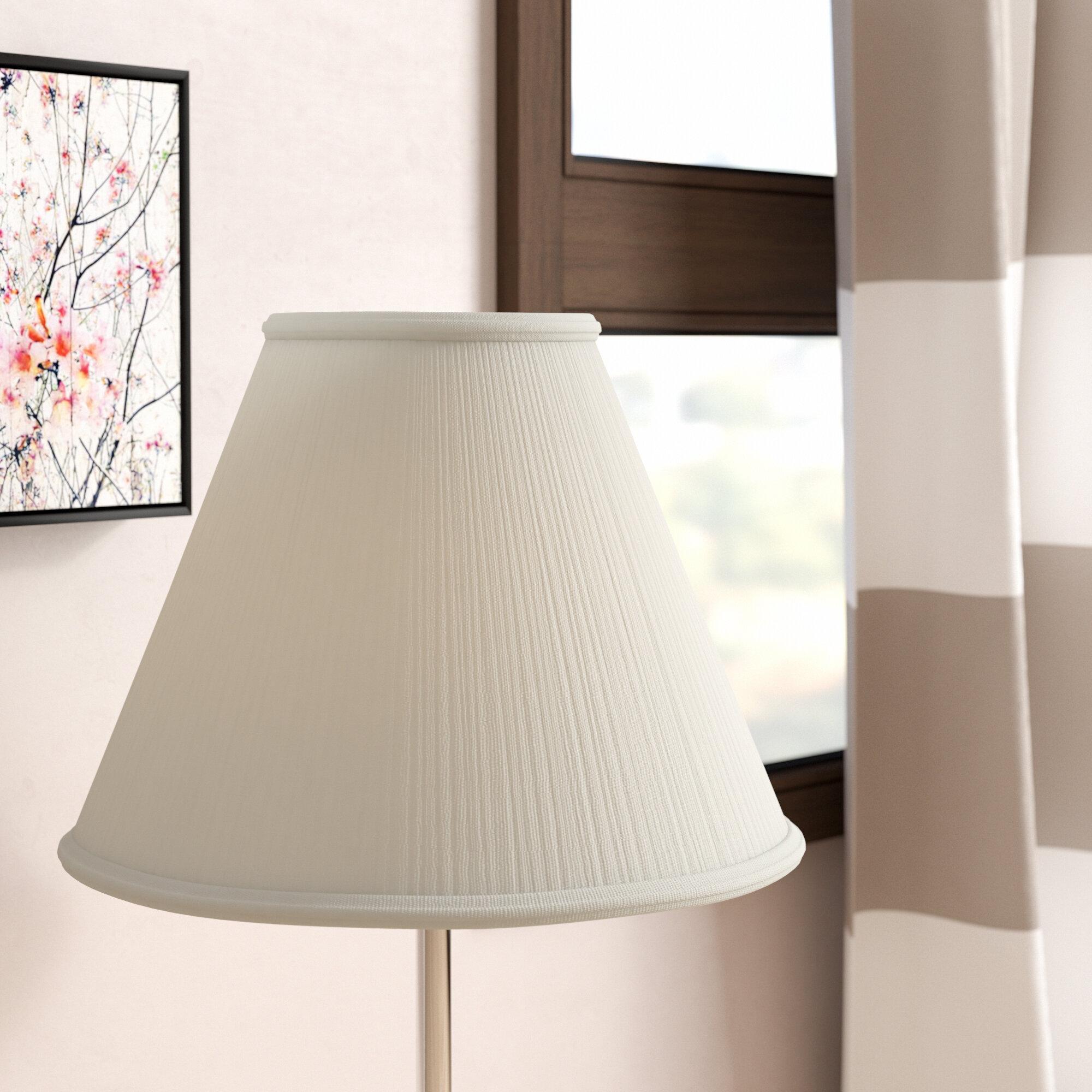 Red barrel studio mushroom pleat 18 linen empire lamp shade red barrel studio mushroom pleat 18 linen empire lamp shade reviews wayfair aloadofball Gallery