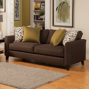 Amberley Contemporary Flared Arm Sofa by Dar..