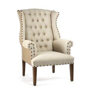 Zentique Wingback Chair