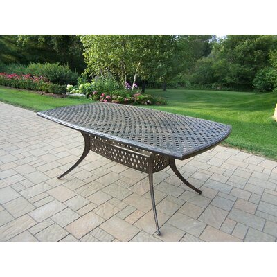 Stone Art Metal Dining Table by Oakland Living Best Choices