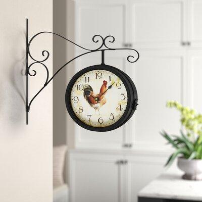 Kitchen Rooster Clocks Wayfair
