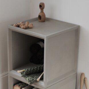Plus Cube Bookcase by Lyon Beton