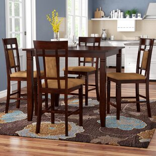 Boston 5 Piece Counter Height Dining Set Red Barrel Studio