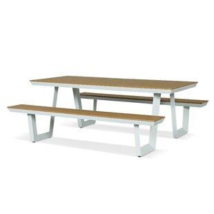Gehlert Aluminium Picnic Table By Sol 72 Outdoor