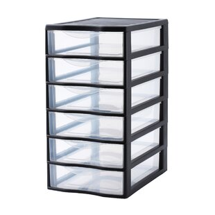 Orgamix 6 Drawer Vertical Filing Cabinet By Rotho