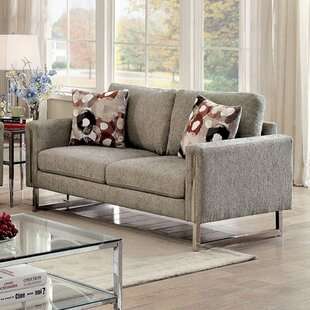 Metrocles Transitional Loveseat