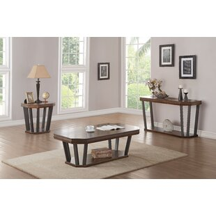 Bloomington 3 Piece Coffee Table Set