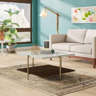 Laduke Coffee Table with Tray Top