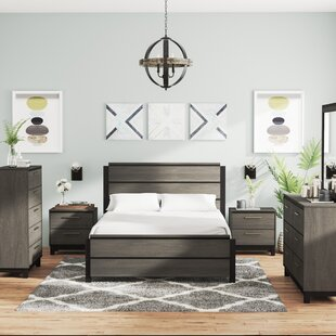 Mandy Panel 6 Piece Bedroom Set