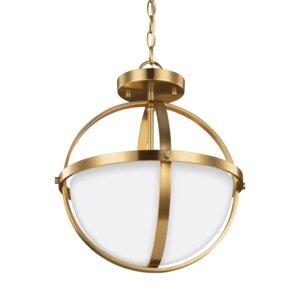 Haworth 2-Light Globe Pendant