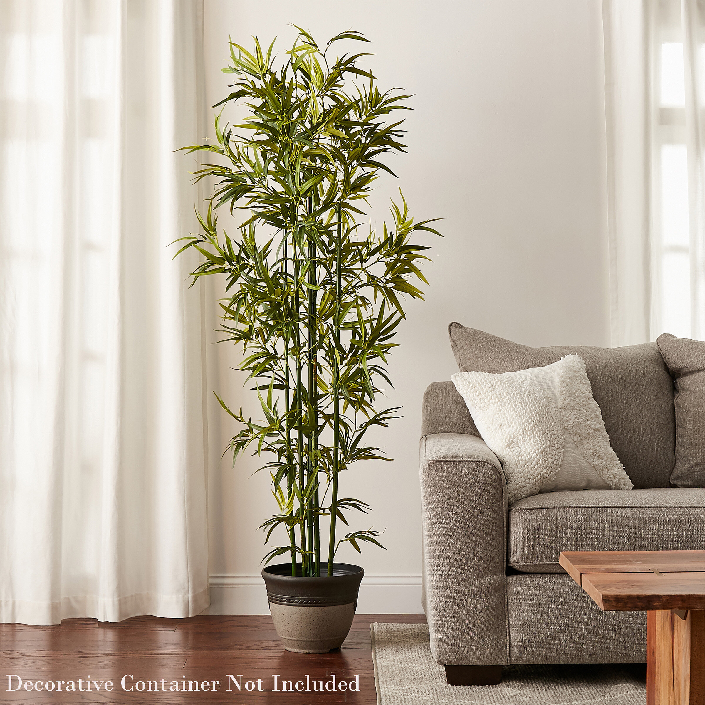 Pure Garden Artificial Bamboo Tree In Planter Reviews Wayfair