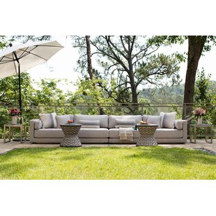 Summer Classics Venti Patio Sectional with Sunbrella Cushions