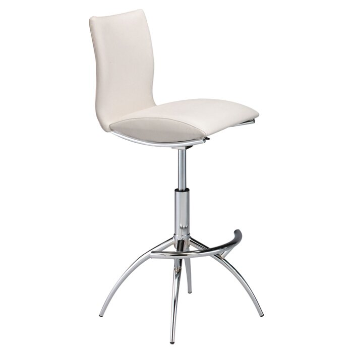 Guttenberg Adjustable Height Swivel Bar Stool  sc 1 st  Wayfair & Wade Logan Guttenberg Adjustable Height Swivel Bar Stool u0026 Reviews ... islam-shia.org