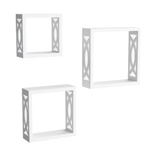 Griffiths 3 Piece Wall Shelf Set