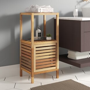 Bair 40 X 86cm Wooden Caddy Free Standing Cabinet By Brambly Cottage